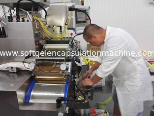 Porcellana Automatic Capsule Filling Machine for food-fish oil, Vitamin, and Bee Honey fornitore