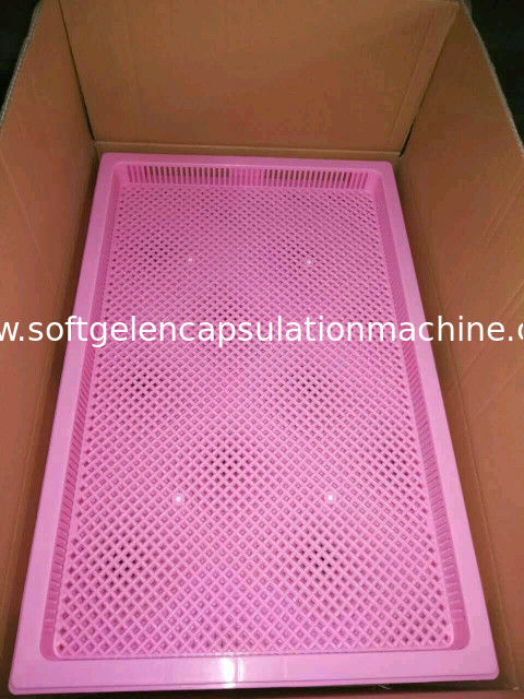 Lightweight Food Grade Stackable Plastic Trays / Cooling Tray 762*495*55mm