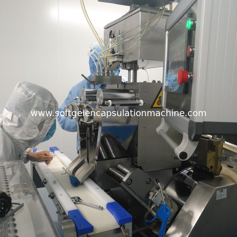 High Precision 6 Inch Automatic Encapsulation Machine Softgel Manufacturing 900kg Weight